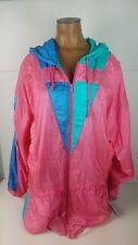 NEW Vintage Spalding Sportswear Parchute Jacket 90s Waist Tie Hooded Size XL