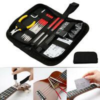 Gitarren Reparatur Werkzeug Tasche, ein Satz von 15-Teiligen Reparatur Neu