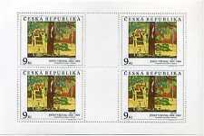 Briefmarken 2 Kleinbögen Tschechische Republik Ceska 1996 ** Nr: 130 - 131 BR598