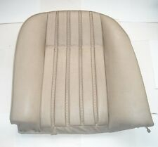 ROVER P6 3500S MANUAL AND 3500S AUTO NADA LH REAR SEAT SQUAB BUCKSKIN NOS NEW