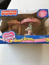 "FISHER PRICE LOVING FAMILY --  SWEET STREETS ""CAROUSEL"" 2003 NIB"