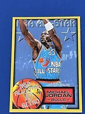 1996-97 Fleer All Star 10 Retro Michael Jordan #282 basketball Card
