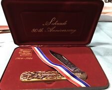 Scrade 80th Anniversary Commemorative Knife 280 Limited Edition