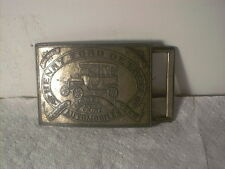 Henry Ford Belt Buckle Detroit Model T Vintage Michigan