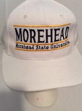 Morehead State University Hat Snap Cap White New