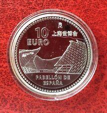 Espagne - Magnifique monnaie de 10 Euros 2010 Proof en Argent - Expo Shanghai