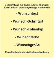 Wunschtext Wunschname Schriftzug Beschriftung Folientattoo Aufkleber Sticker