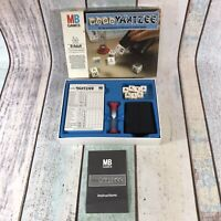 Vintage WORD YAHTZEE MB GAMES 1979 All the excitement of Yahtzee in a word-game