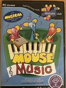 Mouse Music CD-Rom For 3yr Olds