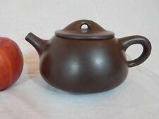 YiXing Zisha Teapot by XU HanTang 徐汉棠石瓢壶