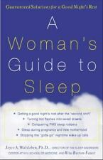 A Woman's Guide to Sleep: Guaranteed Solutions for a Good Night's Rest-ExLibrary