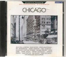 CD COMPIL 20 TITRES--JAZZ IN CHICAGO--MORTON/OLIVER/CONDON/JUNEE/GOODMAN/DODDS