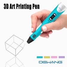 DEWANG 3D Printing Pen 2nd Crafting Doodle Drawing Arts Printer Modeling PLA