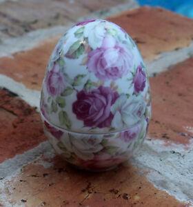 GorGeouS  Ceramic Roses Trinket Box  BRAND NEW