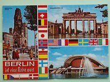 Berlin Stadtansicht AK um 1970
