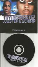TIMBALAND w/ JAY Z Lobster & Scrimp RARE RADIO EDIT Europe CD single USA Seller