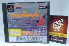 PlayStation 1 - WIPEOUT - Buone Condizioni - Testato