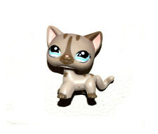 Littlest Pet Shop Animal Grey Striped Cat Loose Figure Child Girl Toy UK