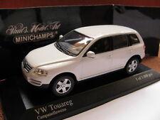1/43 Minichamps VW Volkswagen Touareg (2003) white diecast