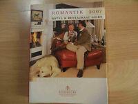 Romantik 2007  Hotel & Restaurant Guide  01-14