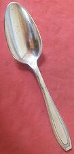 cuillere a servir art deco metal argenté Apollo 27 cm service spoon