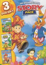 Tomy LAPIN + JACK et Le Haricot Magique + Le Petit Poucet - 3 Histoires en 1 DVD