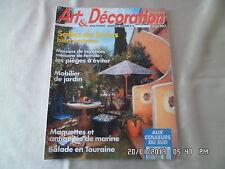 ART ET DECORATION N°318 6/1993 SALLES DE BAINS MOBILIER DE JARDIN        D57