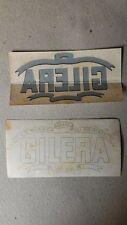 Emblema adesivo dell'epoca Moto Gilera
