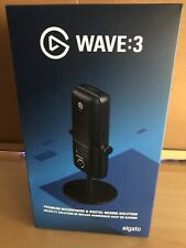 Elgato - Wave:3 Wired Cardioid Condenser USB Microphone