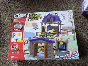 K'NEX Nintendo Super Mario 3D Land Ghost House Building Set Boos Mario