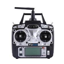 2.4GHz Flysky FS-T6 FS Hand-Fernsteuerung 6-Kanal RC Sender mit Empfänger Life