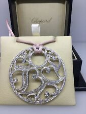 CHOPARD WHITE GOLD PENDANT WITH TONS OF DIAMONDS 79/9039 NEW! $46,450 RETAIL!!!!