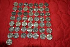 Complete 50 UNC P mint mark State Quarter Set 1999-2008-Toning on some coins