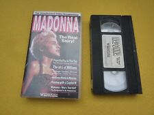 Madonna Unauthorized video documentary The real story! like new  VHS   ç