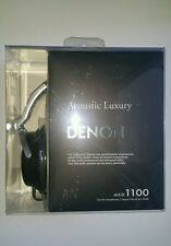 Denon AH-D1100 Acoustic Luxury Over-Ear Headphones (Black) R.R.P$299