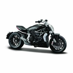 Bburago 51030 Ducati Xd Diavel S Black Scale 1:18 Model Motorcycle New !°
