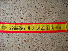 d5 sciarpa SPAGNA football federation association scarf schal spain espana