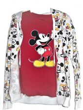 Disney Mickey Mouse Tee and Hoodie T-shirt Jacket Juniors New