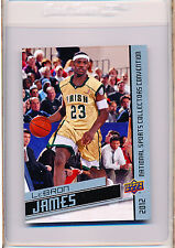 Lebron James 2012 Upper Deck National give away card HTF!