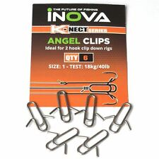 Inova Angel Clips Size 1 / Sea Fishing Terminal Tackle