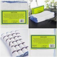 NEW LUXURY DISH CLOTHS IDEAL FOR CLEANING & WASHING KITCHEN DISHES PACK OF 10