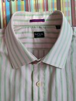 "Paul Smith Men's Shirt - 16.5"" Collar - Nice Pink Business Shirt"