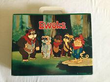 rare 1987 vintage Ewoks Star Wars Cassette Case Koffer FoliForm Animated Series