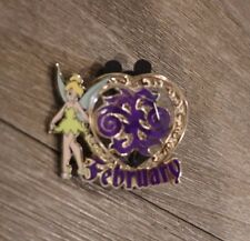 Disney Tinker Bell's Trinkets February Birthstone Pin Limited Release 2013 New