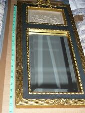 Antique Beautifully Ornate, Stunning gilded wall mirror with Classical Cherubs