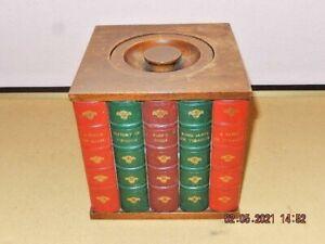 DUNHILL  FREESTANDING BOOK EFFECT TOBACCO JAR / BOX
