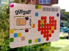 GiffGaff Pay And Go Sim Card 3 IN 1 [Standard/Micro/Nano] TRULY UNLIMITED DATA