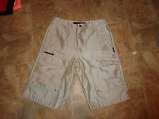 Men's Avirex Shinny Tan Shorts Size 34