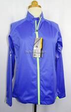 New Women's Sun Mountain Purple & Lime J1 Wind Jacket S NWT 100% Wind Proof