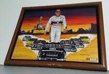 Dale Earnhardt Sr #3 Nascar Sam Bass Framed Art Print from 1994 Winston Cup Win